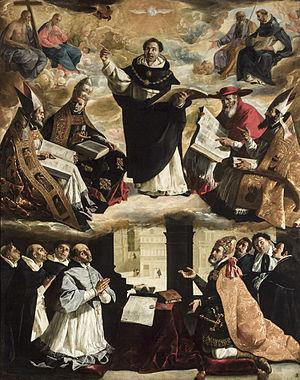 Apotesis de Santo Tomás